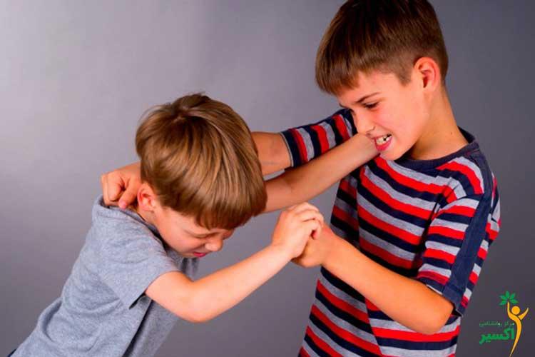 چرا بچه ها دعوا ميكنند؟